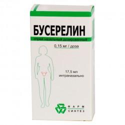 Бусерелин, спрей наз. 150 мкг/доза 17.5 мл №1